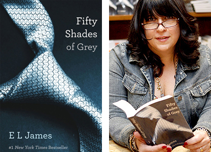 EL James's erotic novel Fifty Shades of Grey