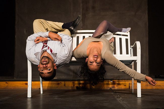 Jacques de Silva and Ameera Patel in Whistle Stop. Picture by Marius Janse van Rensburg