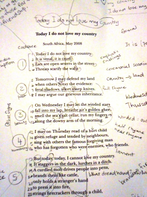 poem on my country for class 4