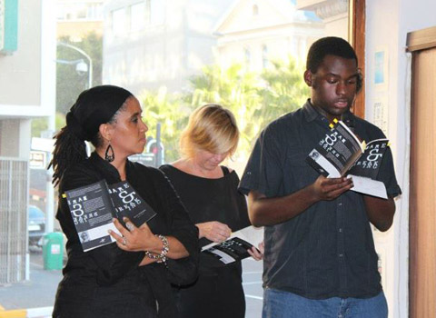 Malika Ndlovu and Peter Kawume
