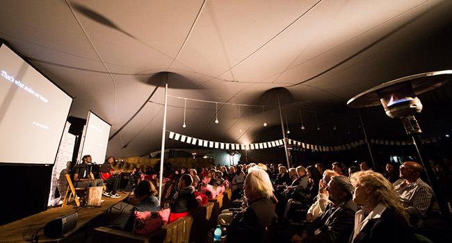 Jabir & Diamil performing at the Dancing in Other Words festival. Photos: Retha Ferguson