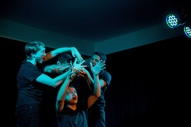 Get Kraken featuring (L-R visible) Shaun Acker, Jason Potgieter and Stefan Erasmus. picture by Bazil Raubach