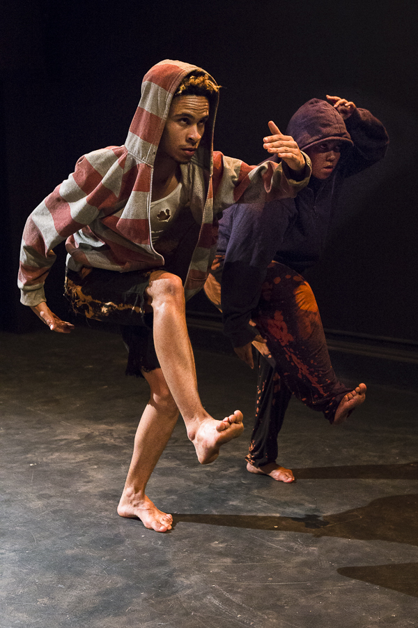 Jason Jacobs and Deidre Jantjies in 'Kalahari Swan' directed by Jason Jacobs - Photo: Jesse Kramer