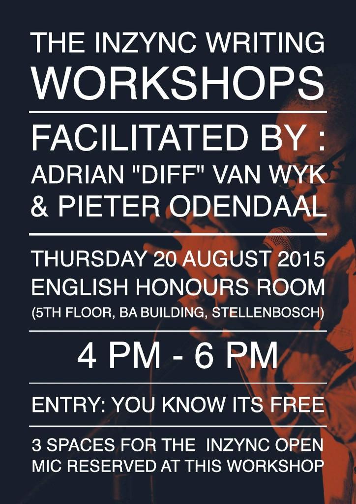 InZync Poetry Workshop Poster